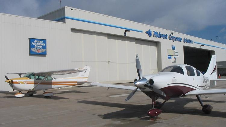 Midwest Corporate Aviation plans construction of two new hangars in     Jabara Airport FBO Midwest Corporate Aviation has plans for new hangar  construction  according to documents