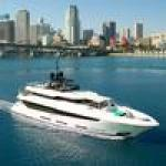 Inside a $18M superyacht on display at the Miami Yacht Show (Photos)