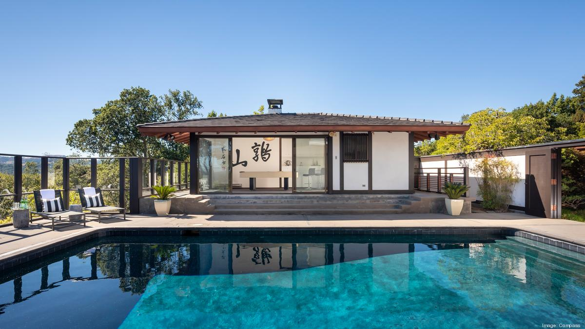 japanese style estate on marin county s
