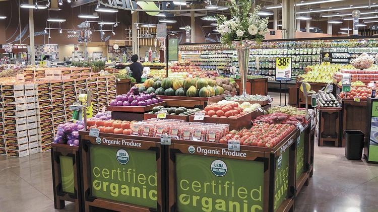 Kroger's organic food selections have been a key driver of sales growth.