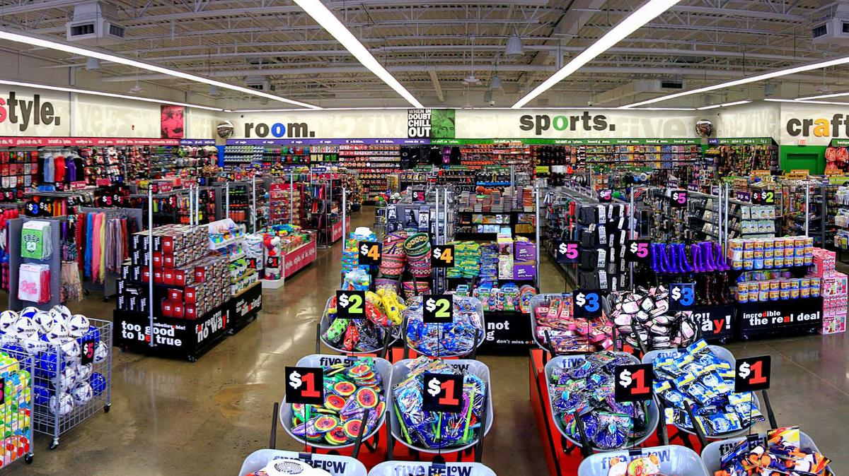 Five Below Opens New South Jersey Distribution Center