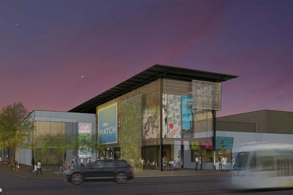 MATCH Midtown Arts Theater Center Houston rendering