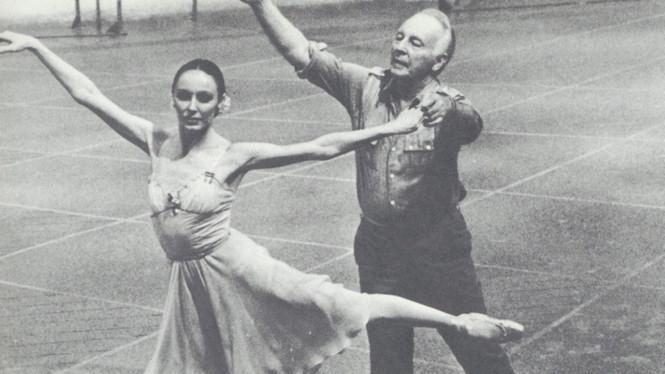 2   Patricia McBride and George Balanchine