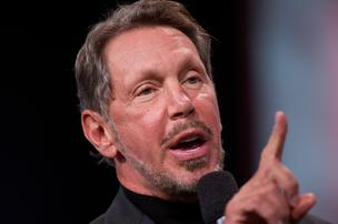Larry Ellison is actually CEO of Oracle Corp.