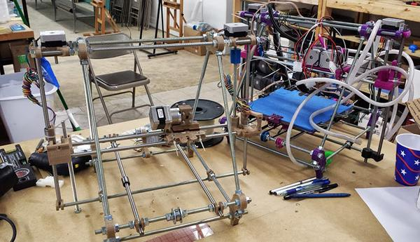 MakeICT plans to bring some of its tools and toys, like the 3D printer the group built, to demonstrate at the 2014 Kickoff Mixer, set for 6 p.m. Jan. 26 at The Labor Party.