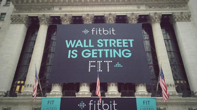 Fitbit shares soared on their debut on the New York Stock Exchange on Thursday.