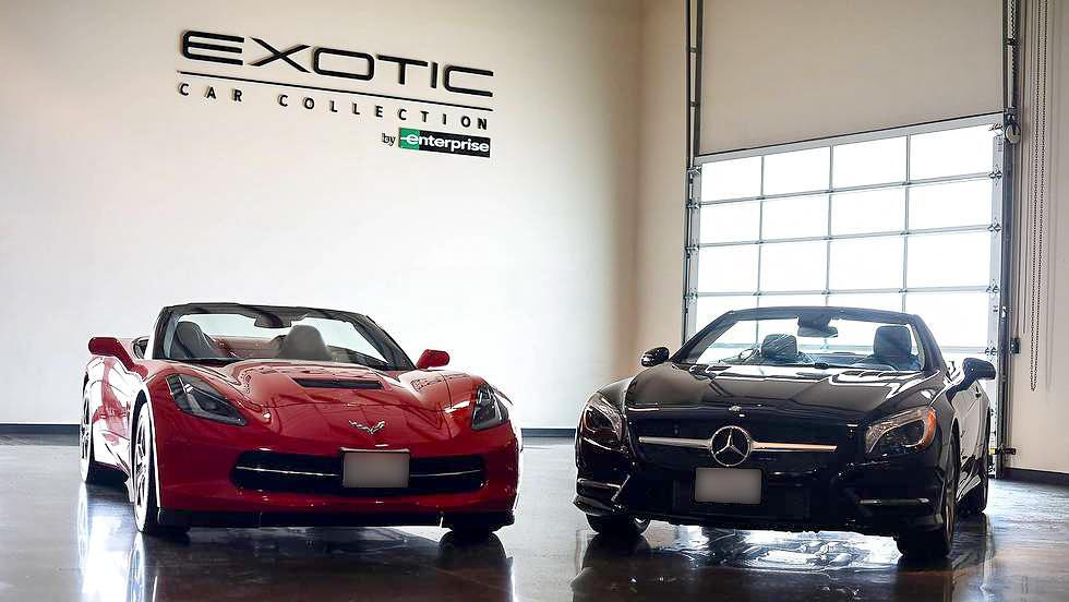Enterprise Offers Ferrari Mercedes Benz Car Rentals Out
