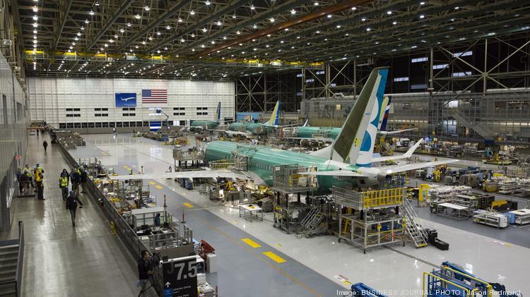 Resultado de imagen para Boeing 737 production