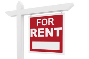 for rent sign housing