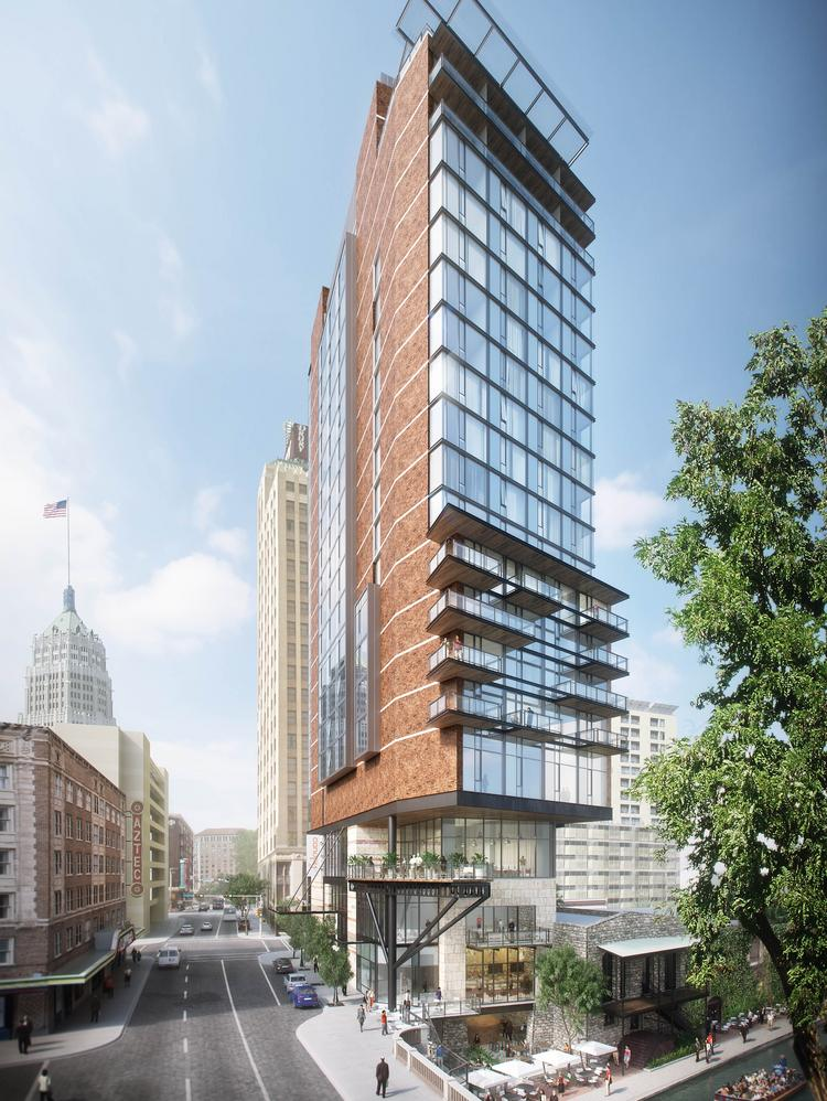 the canopy by hilton hotel is expected to open by mid 2018 in downtown san
