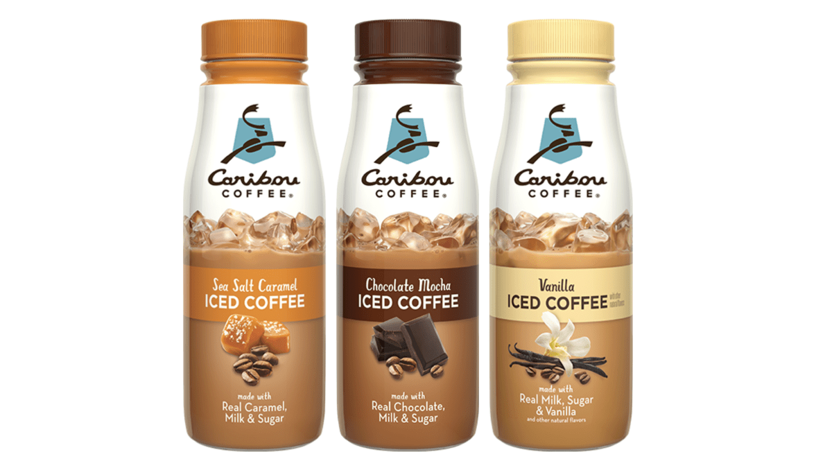 Caribou Launches Bottled Iced Coffee Drinks Minneapolis