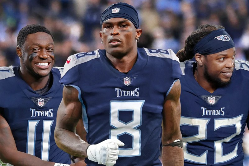 Tennessee Titans Have NFL's New Monster Offense After Julio Jones Trade    Bleacher Report   Latest News, Videos and Highlights
