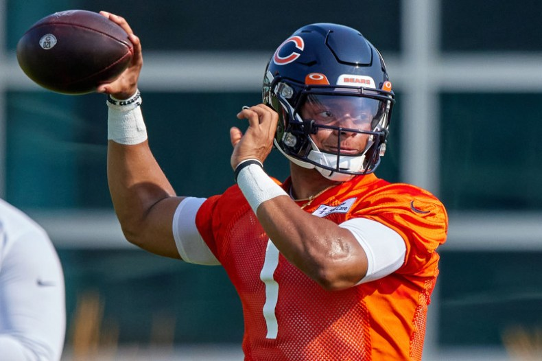 B/R Community Training Camp Questions: Should Justin Fields Be Day 1  Starter? | Bleacher Report | Latest News, Videos and Highlights