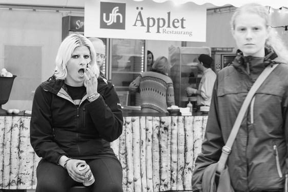 På stan i Umeå - Margareta