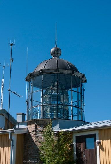 Bjuröklubb - fyrtornet med lanterninen