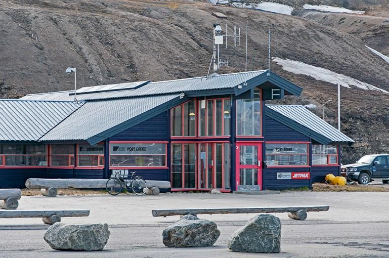 Hamnkontoret i Longyearbyen