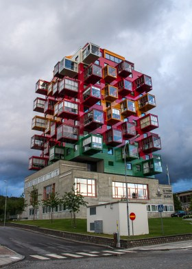 Cool arkitektur i Övik