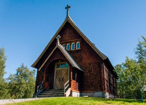 Kvikkjokk - kapellet