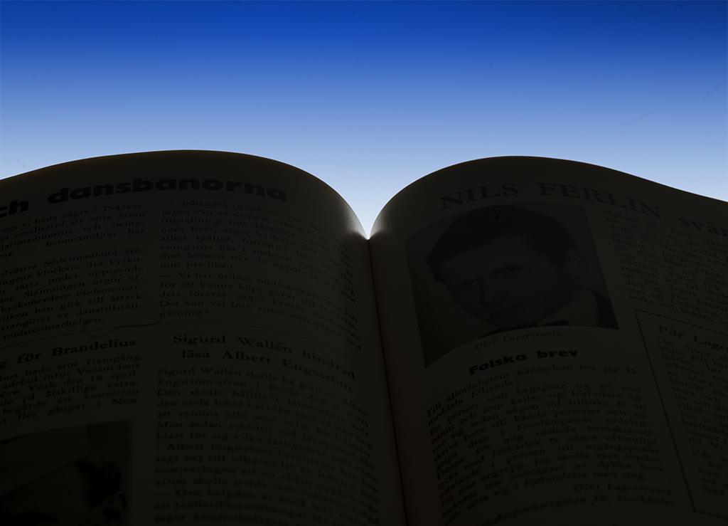 Bok i motljus - av Margareta