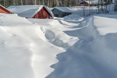 Det som göms i snö - av Margareta