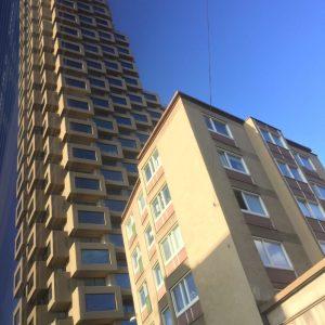19 september - nya tornhuset vid Torsplan i Stockholm.
