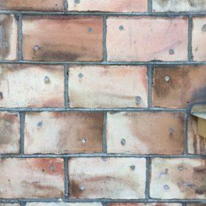 13 september - spikteglet på Stationsgatan 38. Ser ut som en akvarell!