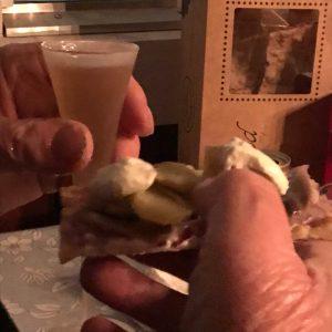 29 sept - Surströmmingsklämma med snaps