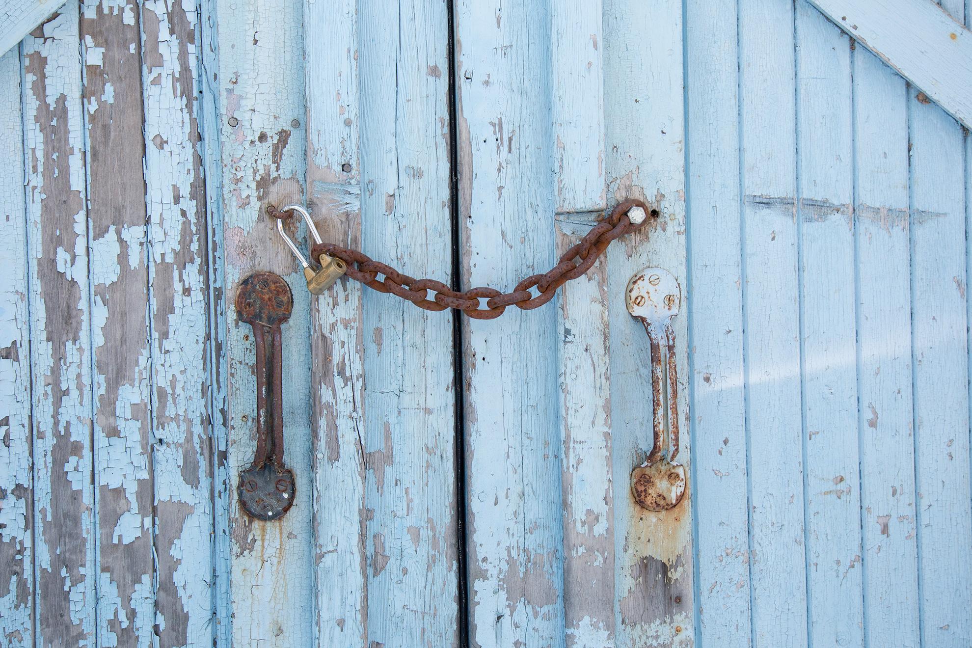 Att låsa en dörr är ett måste idag - av Eva