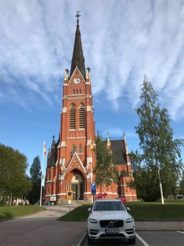 Luleå Domkyrka, Centrala stan - av Eva