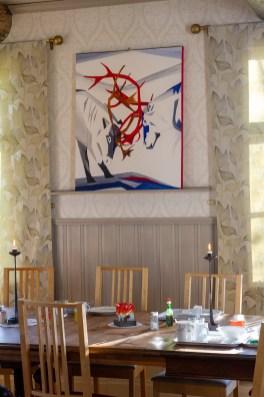 Tavla av Åsa Waara, norrbottnisk konstnär - av Eva