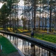 Vacker novemberdag, Lulsundskanalen - av Eva