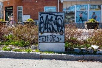 Graffiti i Luleå - av Eva