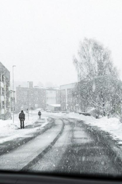 Aprilväder i Bergviken -av Margareta