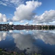 Vindstilla morgon i Norra Hamn - av Malin