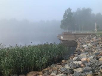 Dimma vid Skurholmsfjärden - av Malin