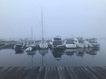 Dimmig morgon - av Malin