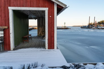 Brändöhamn, Luleå -av Margareta