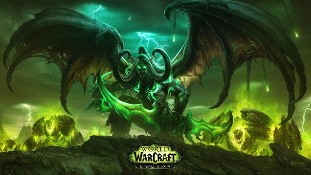 Illidan Stormrage featured in the World of Warcraft:Legion expansion.