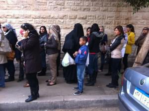 Folkomröstning i Egypten december 2012. Om en vecka är det dags igen.