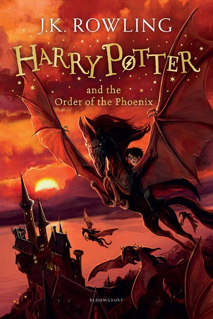 Image result for book HARRY POTTER AND THE ORDER OF THE PHOENIX