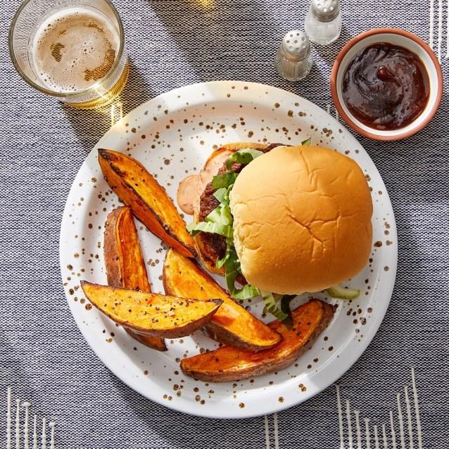 Asian-Style Beyond Burger™ with Sambal Mayo & Bok Choy