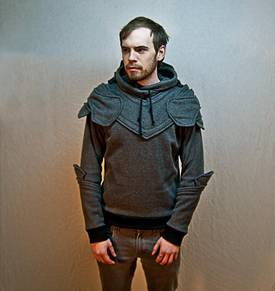 Suit Of Armor Hoodie Boing Boing