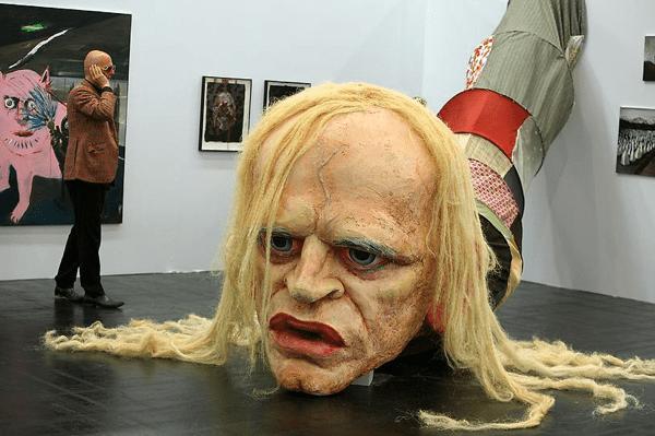 Giant Head Of Klaus Kinski Boing Boing