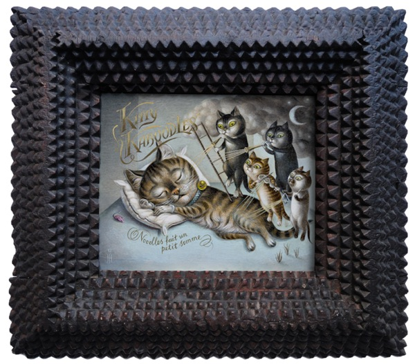 Kittykaboodles framed