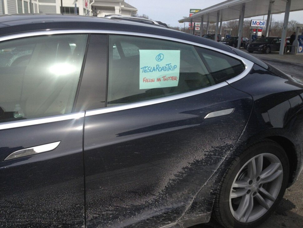 In response to bad NYT review, a Tesla Road Trip / Boing Boing