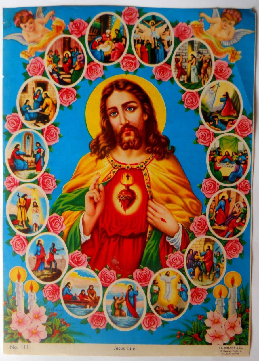bollywood easter images of christ in u002770s poster art from india
