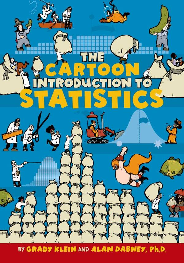 Cartoon Introduction to Statistics: perfect way to get