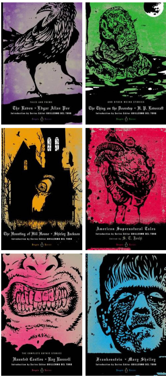 Gorgeous, ghoulish Penguin horror hardcovers, curated by Guillermo del Toro