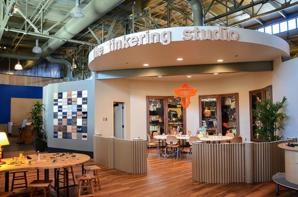 The Exploratorium's Tinkering Studio and new book!