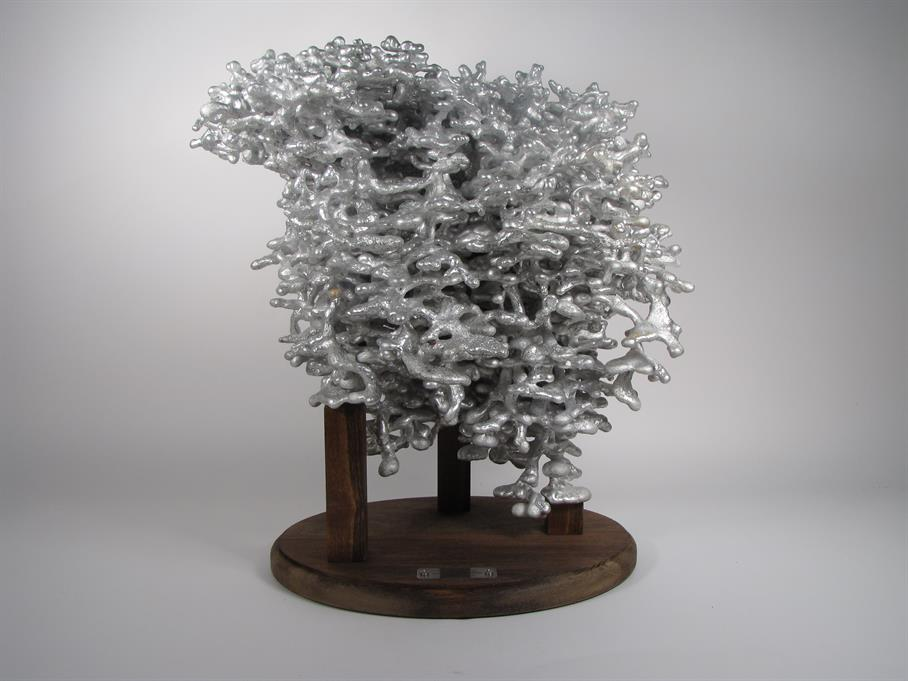 Aluminum castings of ant-nests / Boing Boing